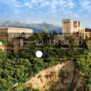 Countdown to Granada!