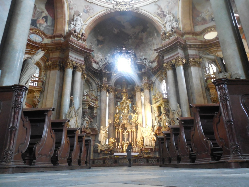 Momma & the Baroque Churches: A Love Story