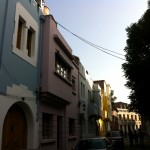 Some of the beautiful buildings in the barrio. Kind of reminded me of Rainbow Row