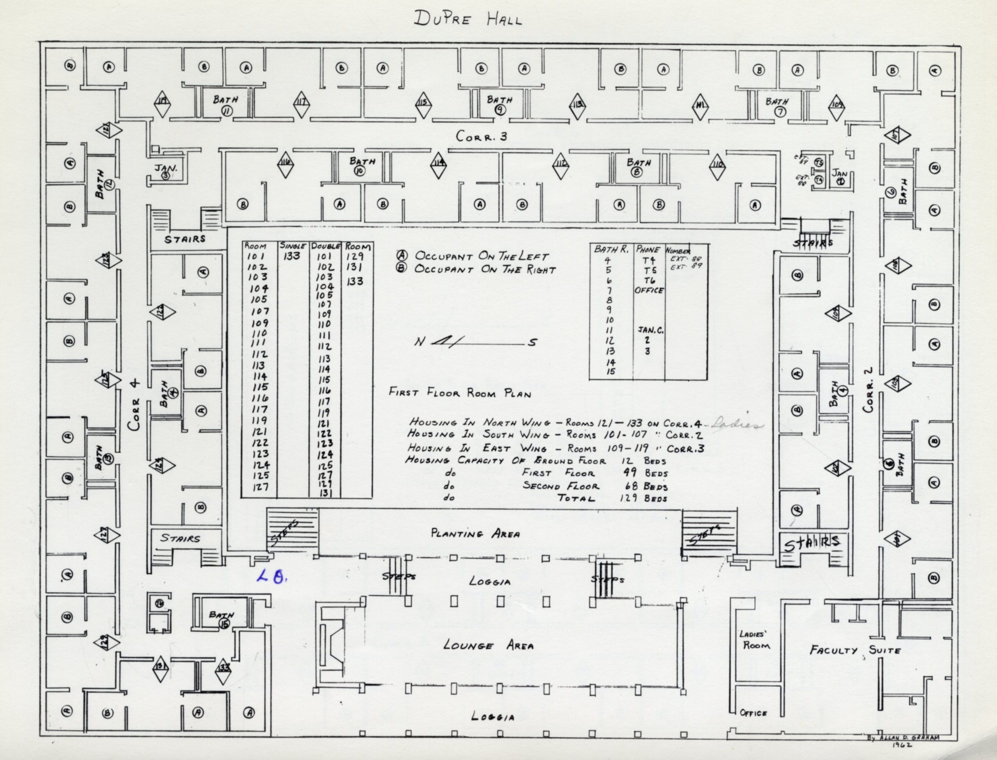 DuPre Hall at Fifty « From the Archives