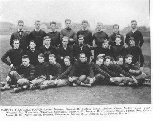 Wofford's 1914 football team, the first varsity team since 1901