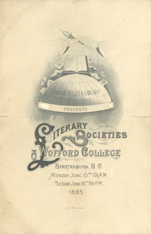Literary Societies of Wofford College