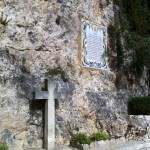 Cross in Guadalest