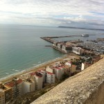 View from the castle in Alicante
