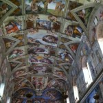 Illegal photo of the Sistine Chapel