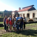 Our group in front of one of the last sugar mills/plantations in the DR