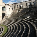 Teatro Romano in Spoleto, ever heard of the Spoleto Festival in Charleston? Yep, that Spoleto.