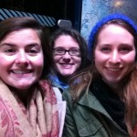 Me, Katie and Sophie before our canal cruise