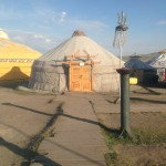 A Mongolian Yurt we stayed in for two nights