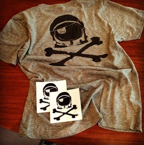 The Space to: Impact and Launch new Space Pirate T-shirts